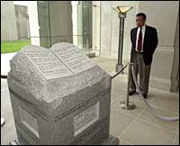judge roy moore monument