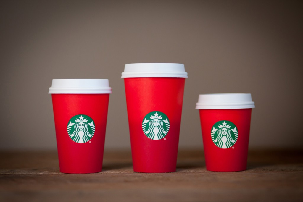 Starbucks Red Christmas Coffee Cups